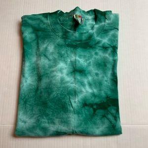 Vintage Tide Dye Fruit of the Loom T-Shirt Size L